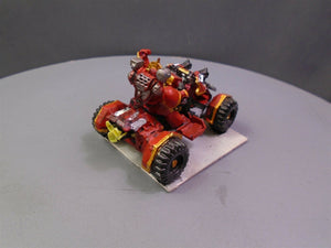 Blood Angels Commander on Quad