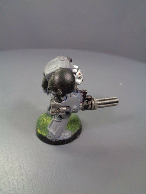 Space Marines Metal Terminator Assault Cannon 891