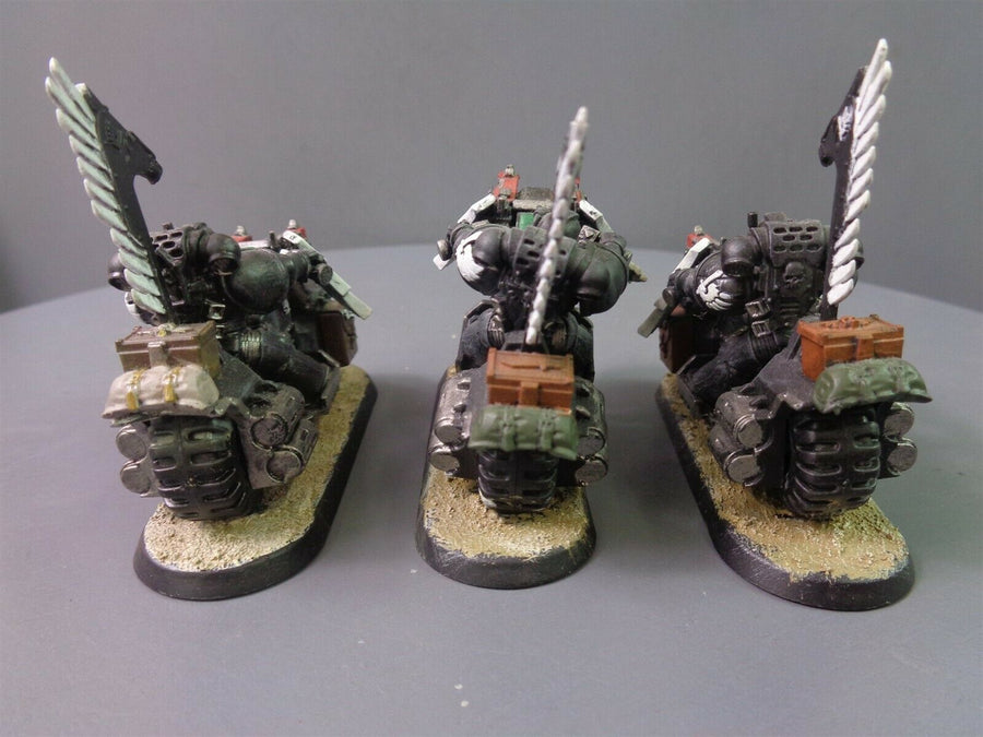 Dark Angels Ravenwing Bikers Bike