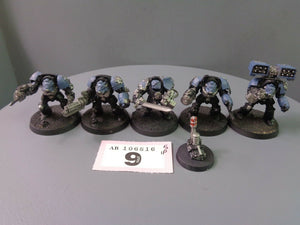 Space Marines Terminators Squad 9