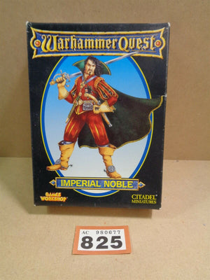 Games Workshop Warhammer Quest Age of Sigmar Imperial Noble with box 825