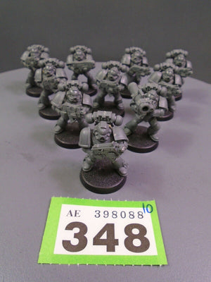 Space Marines Tactical Squad 348