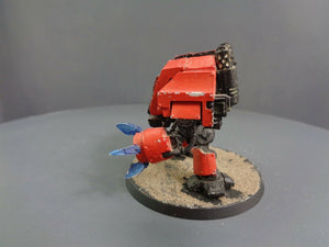 Space Marines Metal Dreadnought with Forge World Arm 44
