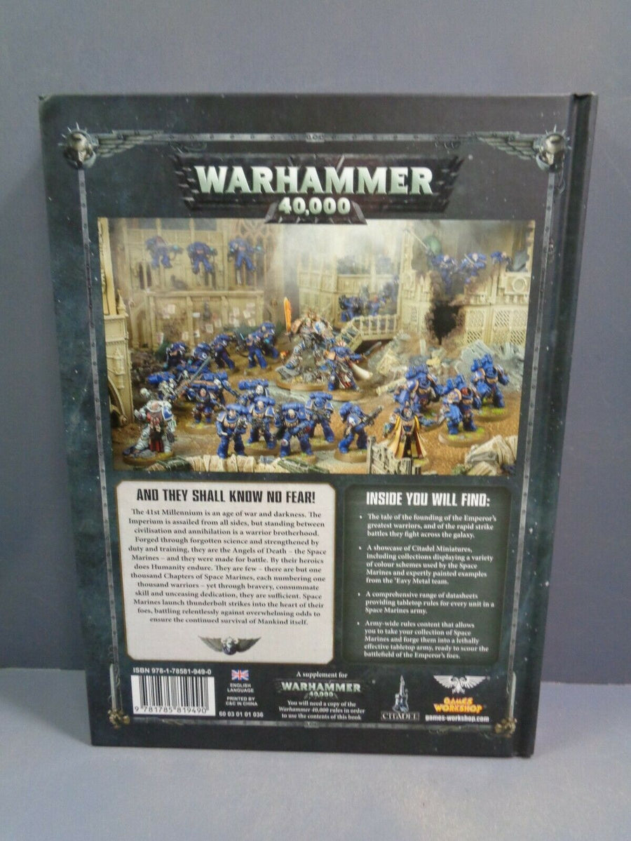 Space Marines 8th Ed Codex (Version 1)
