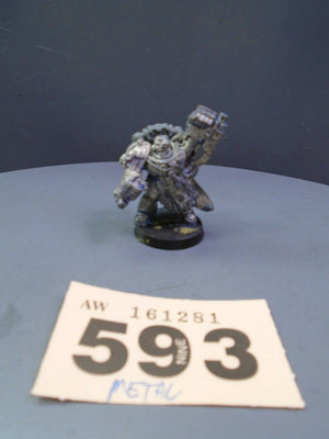 Metal Ultramarines Marneus Calgar 593