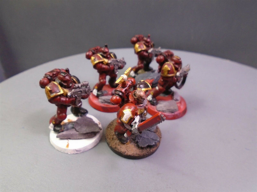 Space Marines Combat Tactical Squad 975