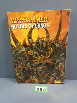 Warhammer Fantasy Armies Soft Cover Army Book Hordes of Chaos  592