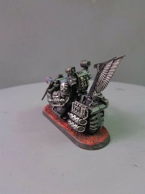 Dark Angels Ravenwing Apothecary on Bike