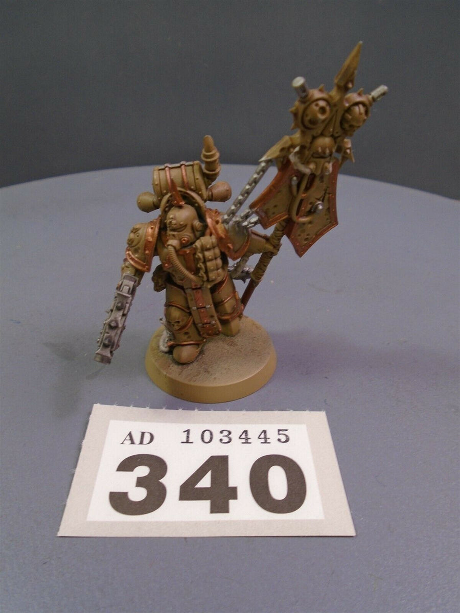 Plague Marine Icon Bearer 340