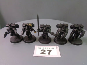 Space Marines Vanguard Veteran Assault Squad 27