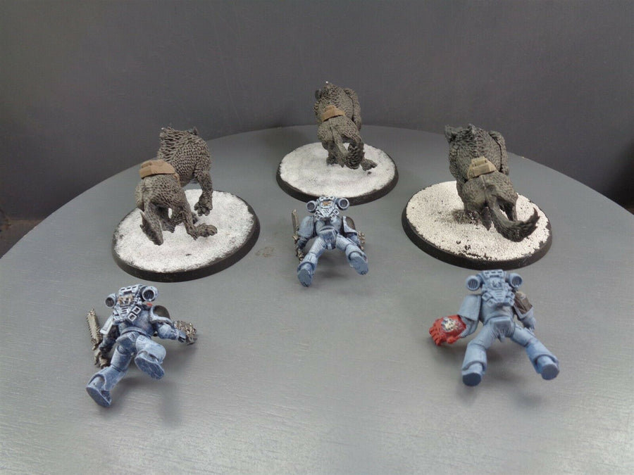 Space  Wolves Wolf Thunderwolf Cavalry 706