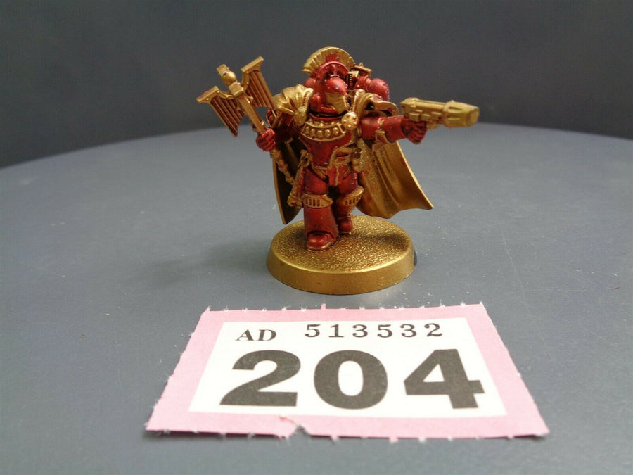 30,000 Space Marines Heroes Calth Chaplain 204