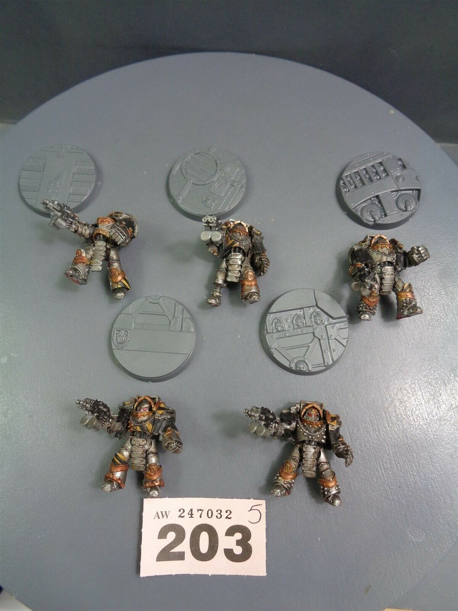 Space Marines Forge World Iron Warriors Cataphractii Terminators 203