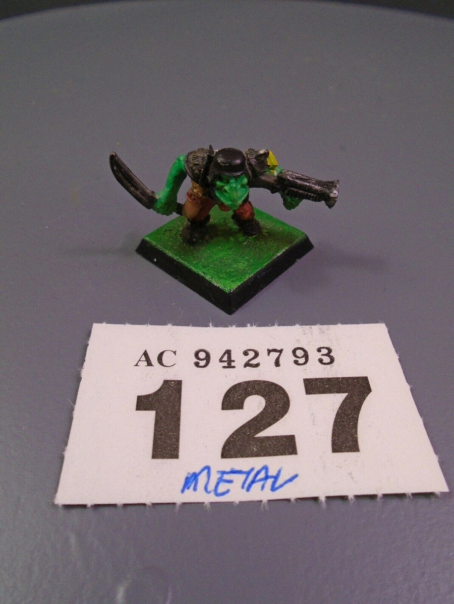40,000 Orks  Orcs Goblins Metal Goblin Gretchin Crew 127