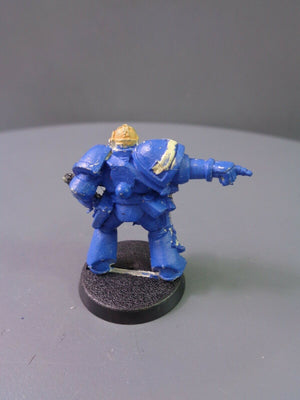 Space Marines Metal Vet Veteran Sergeant 411