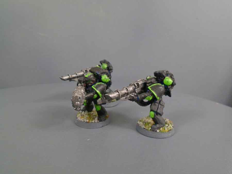 Space Marines Metal Lascannons Plasma Cannon Heavy Weapon 214
