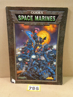 Soft Cover Codex Space Marines 795
