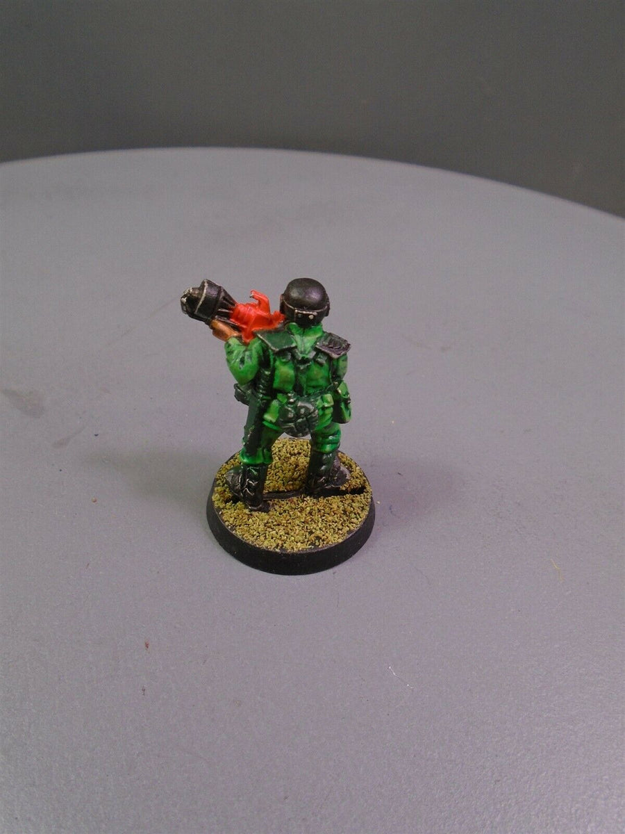 Metal Cadian Shock Troops Flamer 811