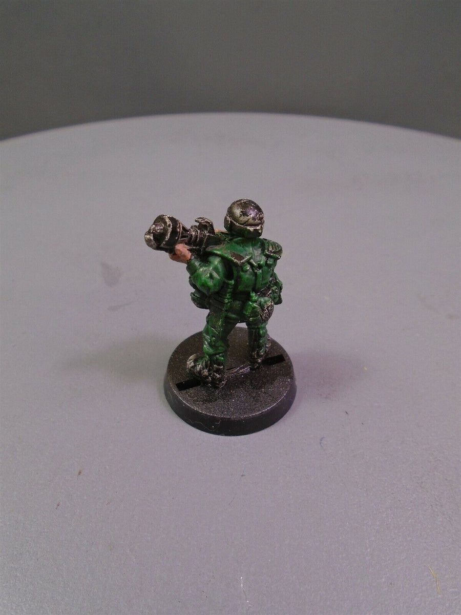Metal Cadian Shock Troops Flamer 795
