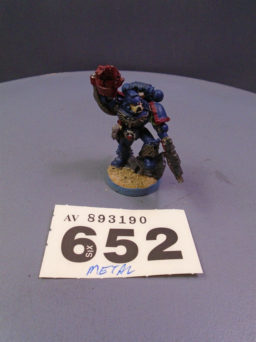 Space Marines Metal Web Exclusive Sergeant 652