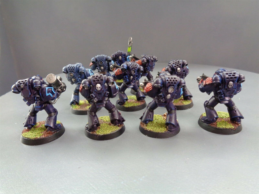 Metal Parts Crimson Fists Tactical Squad