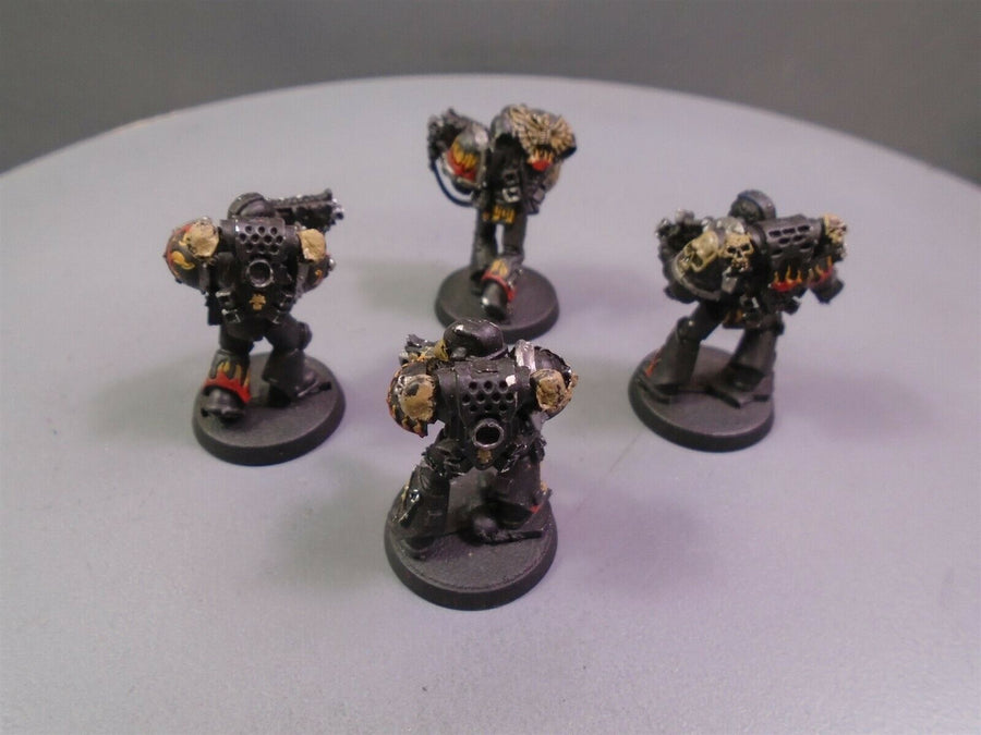Space Marines Metal Legion of The Damned Legionnaires 326