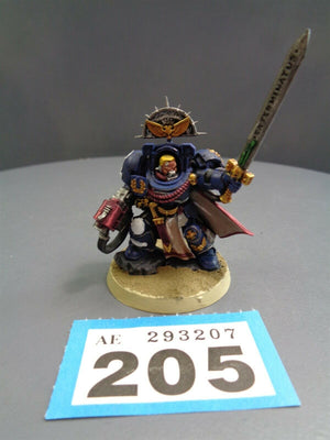 Space Marines Terminator Captain 205