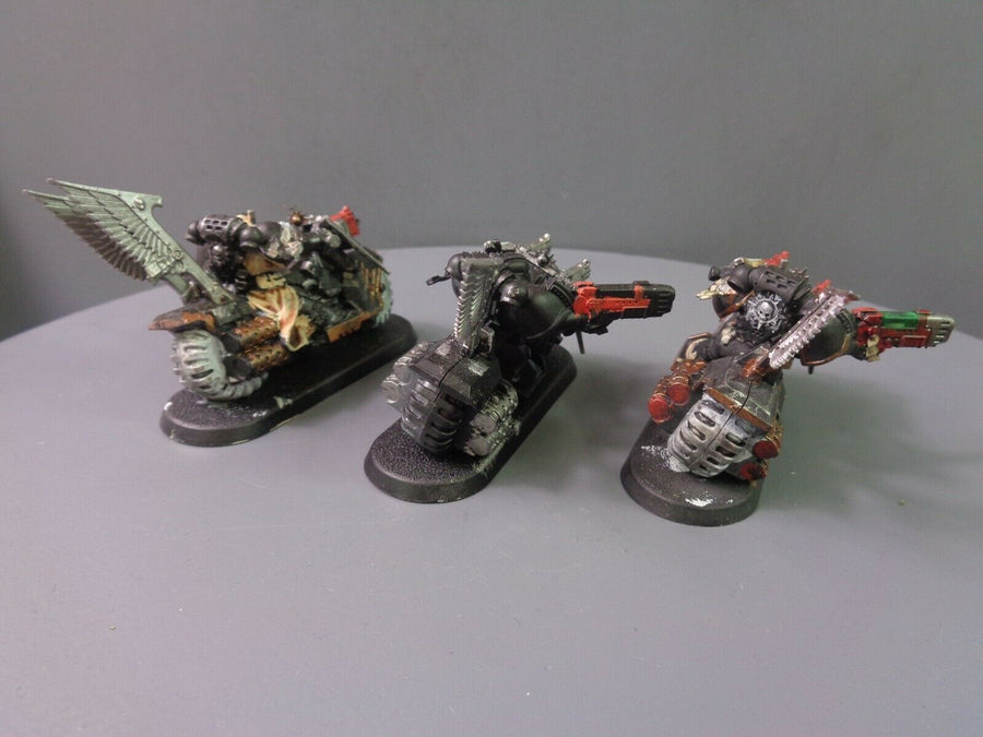 Dark Angels Ravenwing Bikers Bike Squad