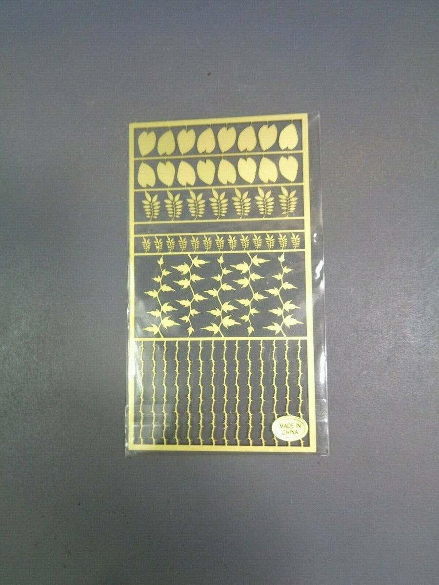 Warhammer 40,000 Age of Sigmar Brass Etch on sprue 925