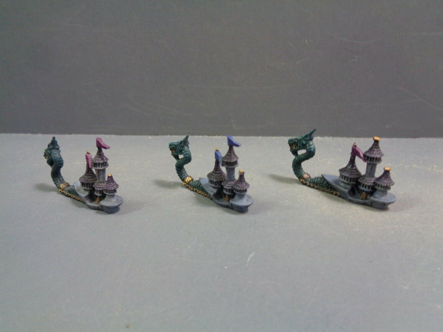 Games Workshop Man O War Dark Elf Doomreavers 489