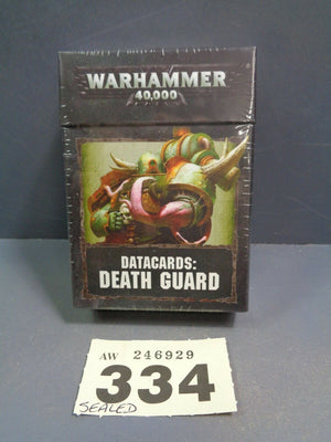 8th Edition  Death Guard  Datacards  334