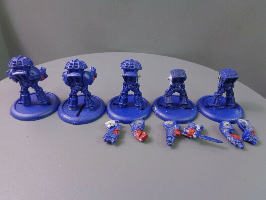 Space Marines Metal Terminators 430