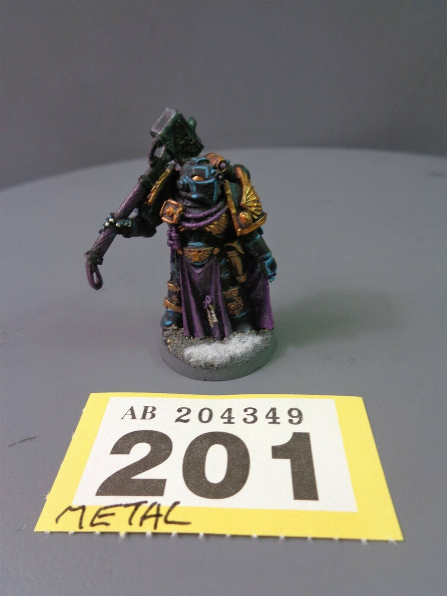 Space Marines Metal Master of the Fleet 201