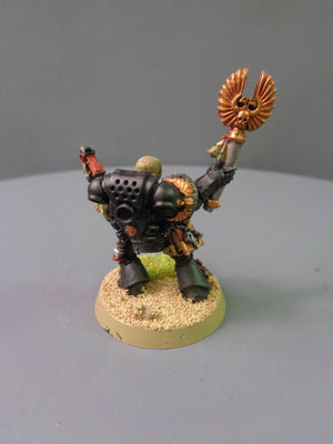 Space Marines Chaplain skull Helm 22