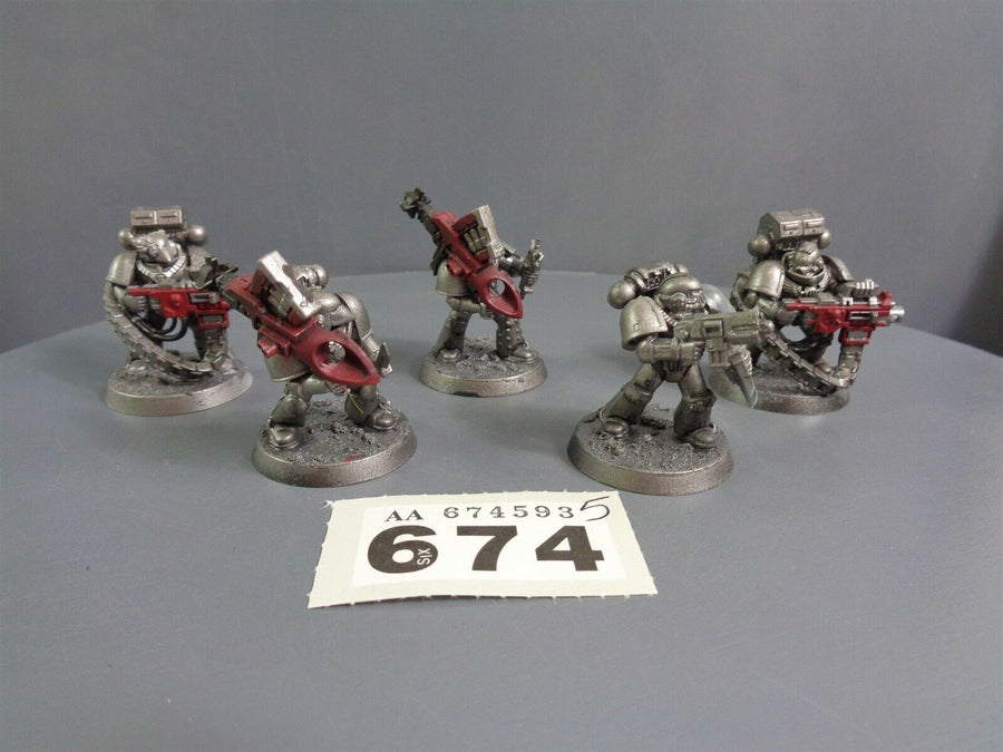 Space Marines Devastators Squad 674