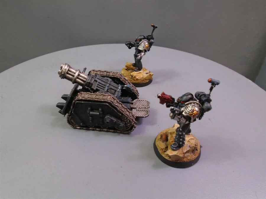 Space Marines Forge World Space Marine Rapier Quad Mortar 231
