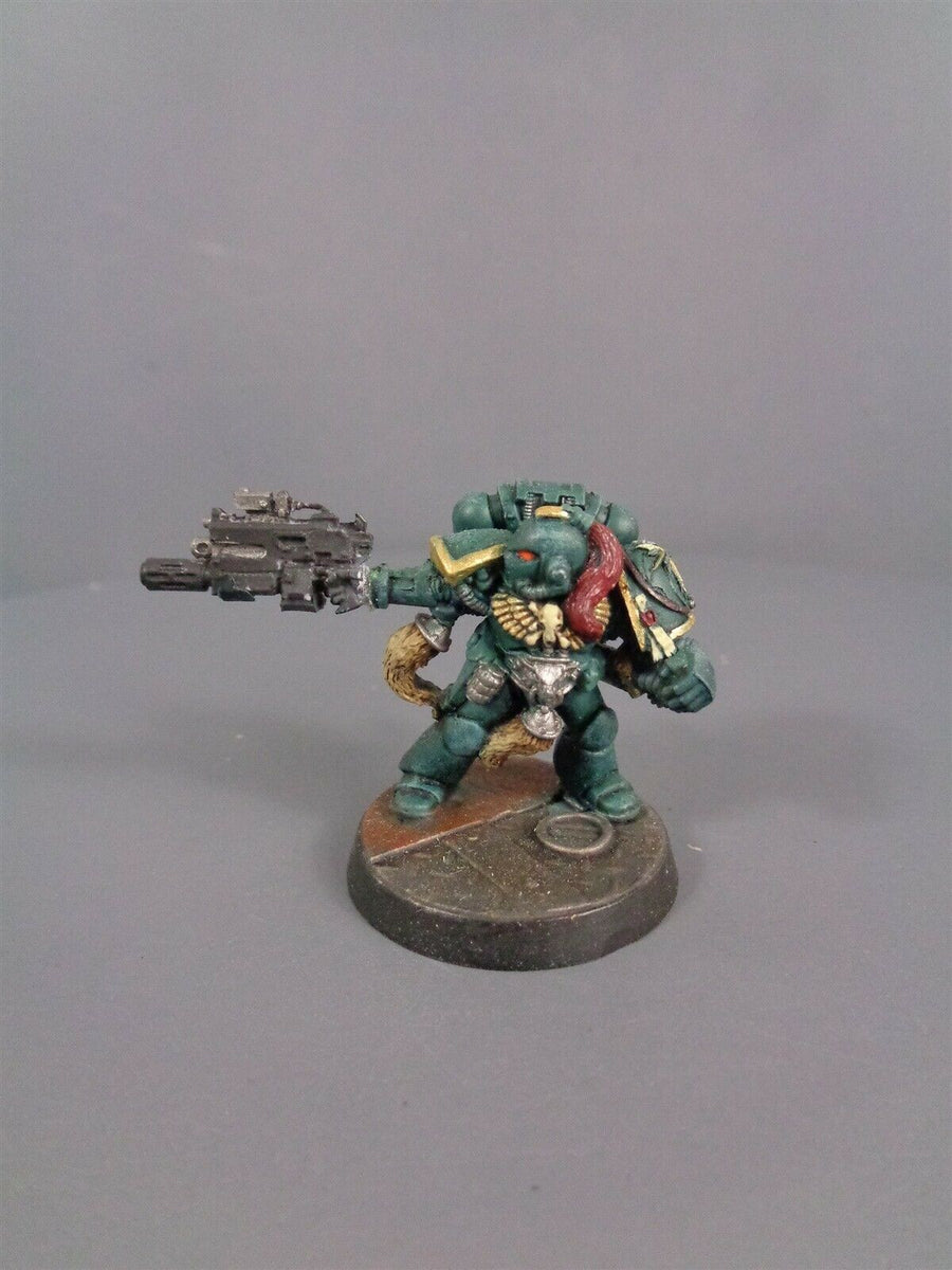 Space Marines Metal Captain 942