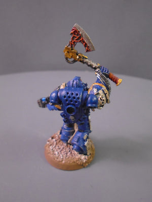 Librarian with Force Axe & Plasma Pistol