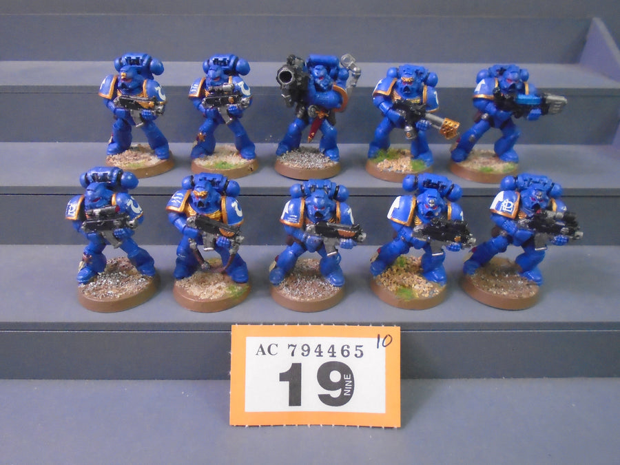Ultramarines Tactical Squad