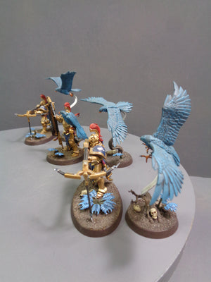 Vanguard-Raptors With Longstrike Crossbows & Aetherwings