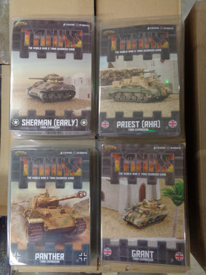 Tanks Random 4 Pack