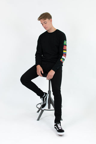 BLACK CAFE FLAG LONGSLEEVE