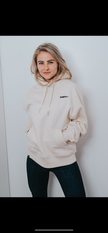 CHILL-SUIT HOODIE NASTY WHITE