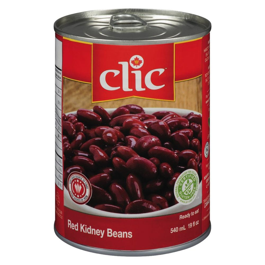 Clic Dark Red Kidney Beans 540 ML