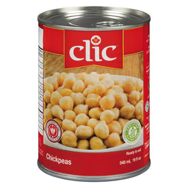 Image of Clic Chickpeas 540ML