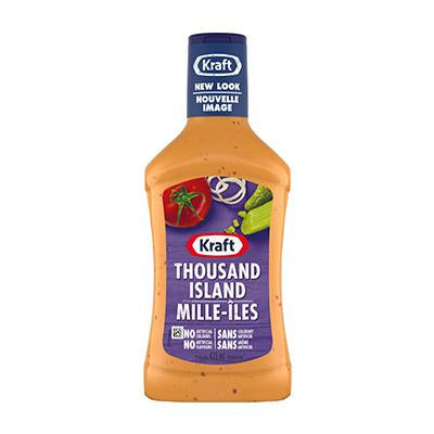 Kraft Thousand Island Dressing 475g