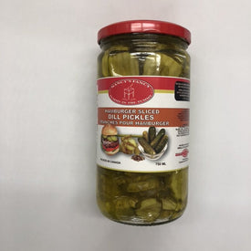 Image of Nancy Fancy Hamburger Sliced Dill Pickles 750 Ml