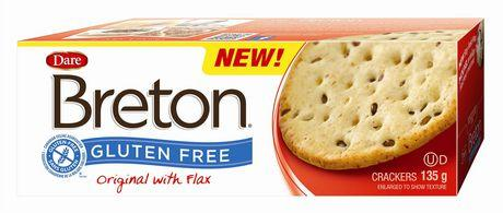 Dare Breton Crackers, Original with Flax 135g