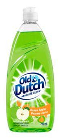 Image of Old Dutch Green Apple Dishwashing Liquid 740 Ml