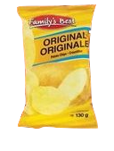 Family's Best Original Chips 130g